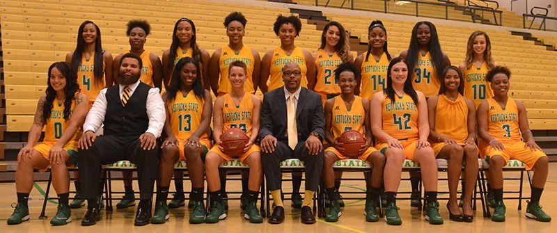 2017 2018 Women S Basketball Roster Kentucky State